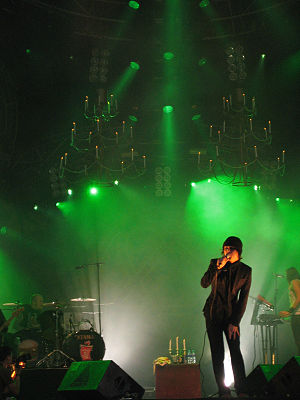HIM (Finnish band) - HIM performing at Provinssirock in June 2006