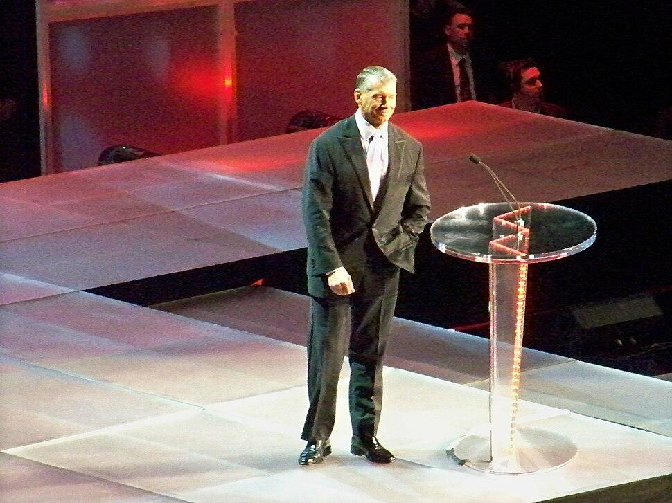 Vince McMahon hof