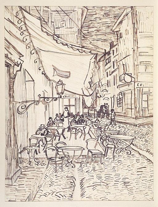 """Café Terrace at Night"" by Vincent van Gogh"