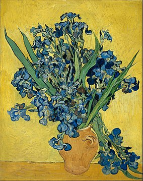 Still Life: Vase with Irises Against a Yellow Background, May 1890, Van Gogh Museum, Amsterdam [250]