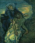 Vincent van Gogh - Pietà (after Delacroix).jpg