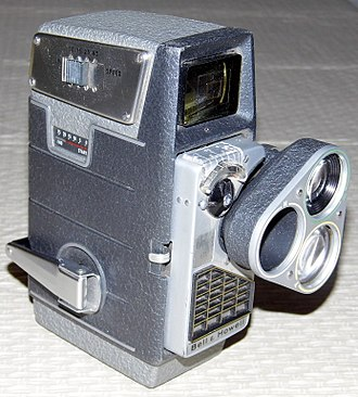 Bell & Howell - 8mm Movie Camera with Electric Eye