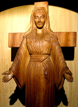 Miracle - Image: Virgin Mary of Akita Japan