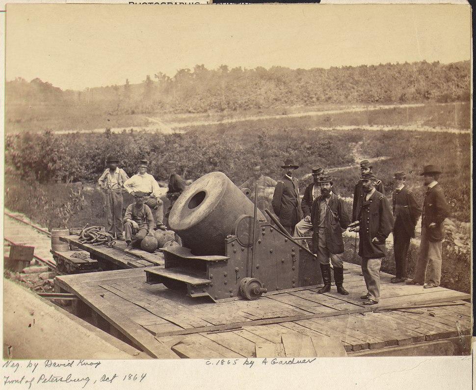 Virginia, Petersburg, Mortar Dictator - NARA - 533349