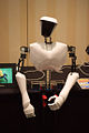 Virginia Tech's CHARLI humanoid robot on display at AAAI 2010.jpg
