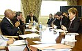 Visit of Russian Governor Valentina Matvienko - Visit of St. Petersburg, Russia Governor Valentina Matviyenko and associates to HUD Headquarters for meeting with Secretary Alphonso - DPLA - 11c87a7c46c42e2ba1ac1ce40887f5c7.jpg
