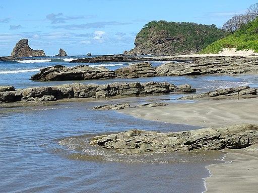 Vista along Maderas Beach - North of San Juan del Sur - Nicaragua - 01 (31080936373