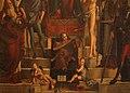 Vittore carpaccio, madonna in trono col bambino e santi (pala di capodistria), 1516, 04.jpg