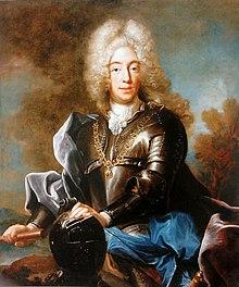 Der junge Karl Albrecht mit heller Allongeperücke, 1717–1719, Joseph Vivien, Warschauer Königsschloss (Quelle: Wikimedia)