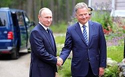 Vladimir Putin and Sauli Niinistö (2017-07-27) 02.jpg