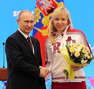 Yuliya Skokova Russian speed skater