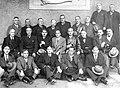 Vodas de prata (1932) da promoción de 1907. Na fila do medio Roberto Nóvoa Santos (terceiro pola esquerda) e Alejo Diz Jurado (cuarto pola dereita).jpg