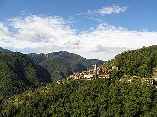 Volegno Frazione in Tuscany, Italy