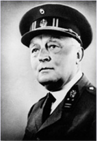 International Committee of Military Medicine -  General Doctor Jules Voncken (Belgium), Co-Founder and Secretary General of the International Committee of Military Medicine from 1921 until 1975