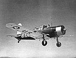 Vultee BT-13 Valiant at Bainbridge AAF GA.jpg
