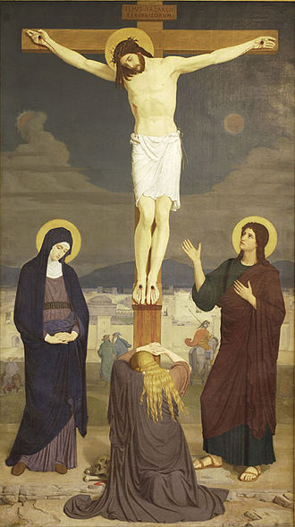 Good Friday - A Stabat Mater depiction, 1868