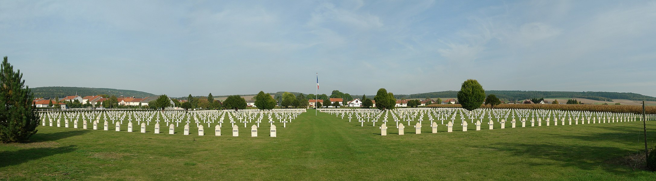 WWI Cemetery at Bras-sur-Meuse
