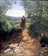 Die Erwartete (1860) (Quelle: Wikimedia)