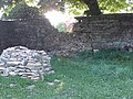 Wall repairs, Ampney Crucis churchyard - geograph.org.uk - 421966.jpg