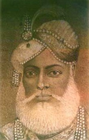 Muhammad Ali Khan Wallajah - Another portrait of Muhammad Ali