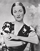 Wallis Simpson sitting