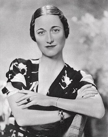 Portrait of Wallis Simpson, 1936