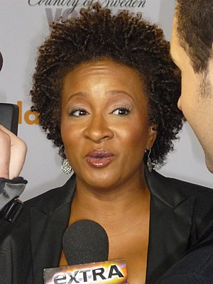 21st GLAAD Media Awards - Stephen F. Kolzak Award recipient, Wanda Sykes at the 21st GLAAD Media Awards, Los Angeles, April 18, 2010.