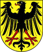 Coat of arms of the city of Lübben (Spreewald)