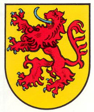 Zweibrücken-Bitsch - Image: Wappen nuenschweiler
