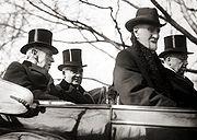 Warren G. Harding inauguration - convertible