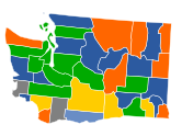 Results of the Washington Republican caucuses,...