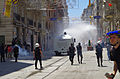 Water Cannon used on İstiklâl Caddesi near Taksim Square - Gezi Park, İstanbul - Flickr - Alan Hilditch.jpg
