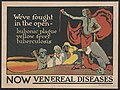 We've fought in the open - bubonic plague, yellow fever, tuberculosis-now venereal diseases - H. Dewitt Welsh. LCCN96502763.jpg