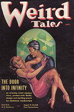Weird Tales cover image for August-September 1936