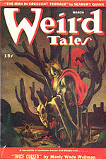 Weird Tales cover image for March 1946