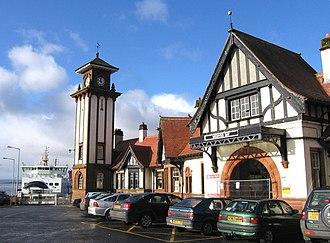 Wemyss Bay railway station - Image: Wemyss Bay station 1