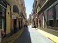 Westwards along Calle San Francisco, Alicante, 16 July 2016.JPG