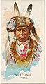 Wetcunie, Otoes, from the American Indian Chiefs series (N2) for Allen & Ginter Cigarettes Brands MET DP828019.jpg