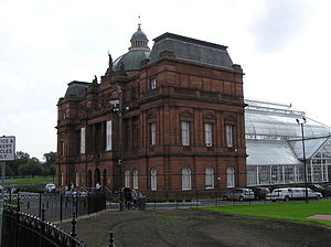 People's Palace, Glasgow - Image: Wfm peoples palace front