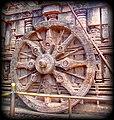 Wheel of Konark sun temple,odisha.jpg