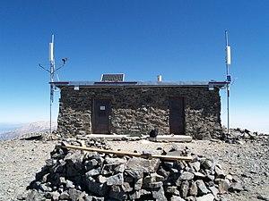 White Mountain Peak - White Mountain Research Center Summit Lab.