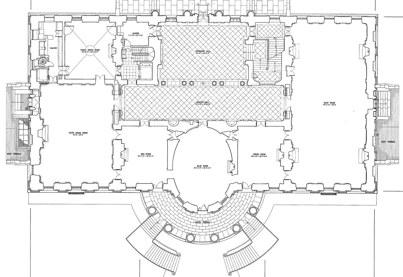 File:White-house-floor1-plan.jpg - Wikimedia Commons