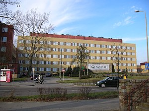 Pomeranian Medical University in Szczecin - Pomeranian Medical University, the hospital in Police, Pomerania, Poland