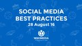 Wikimedia Foundation Social Media Best Practices presentation - Wikimedia CEE Meeting 2016.pdf