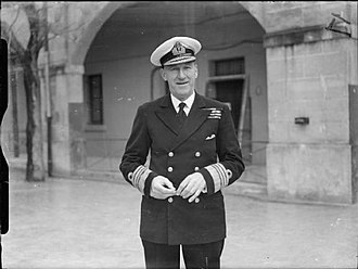 Wilbraham Ford - Admiral Sir Wilbraham Ford in 1943