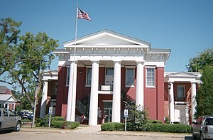 Wilcox County Courthouse in Camden