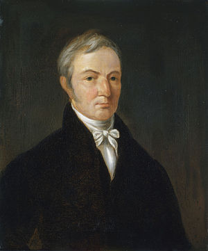 William Anderson (artist) - Self-portrait