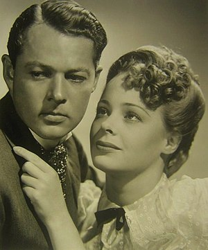 William Henry (actor) - Film still of William Henry with Virginia Gilmore in Jennie (1940)