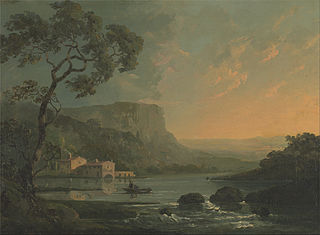 Landscape with Fishermen on a Lake