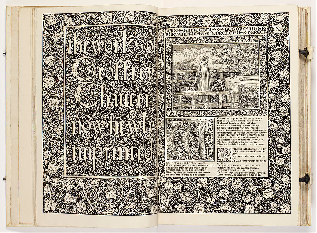 Marginalia @ Cie. - Page 2 1024px-William_Morris_-_The_Works_of_Geoffrey_Chaucer_%28The_Kelmscott_Chaucer%29_-_Google_Art_Project